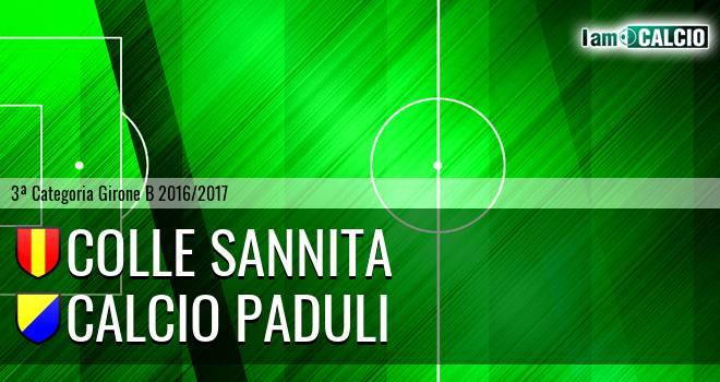 Colle Sannita - Calcio Paduli