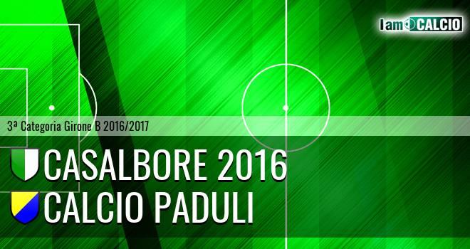 Casalbore 2016 - Calcio Paduli