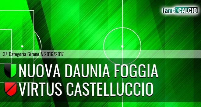 Nuova Daunia Foggia - Virtus Castelluccio