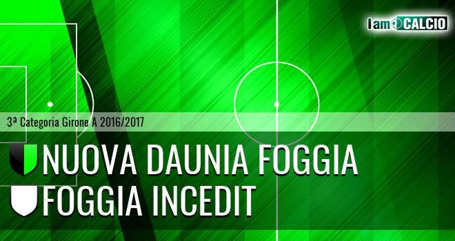 Nuova Daunia Foggia - Foggia Incedit