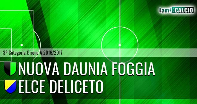 Nuova Daunia Foggia - Elce Deliceto