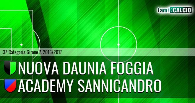 Nuova Daunia Foggia - Academy Sannicandro