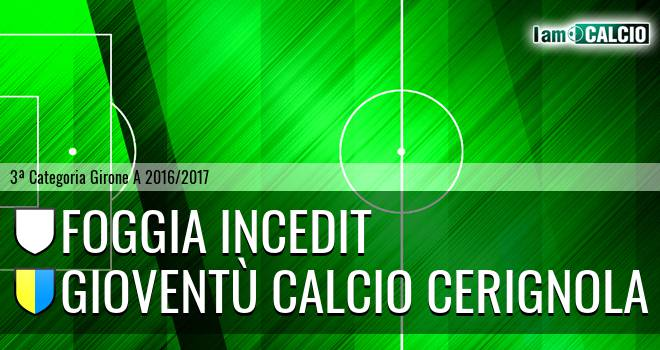 Foggia Incedit - Gioventù Calcio Cerignola