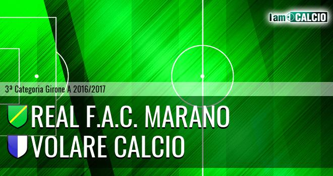 Real F.A.C. Marano - Volare Calcio