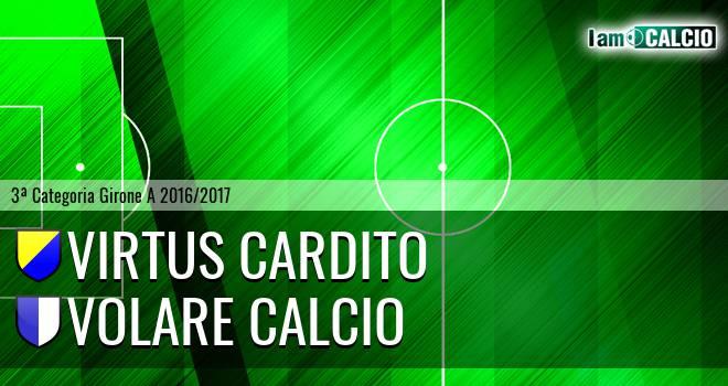 Virtus Cardito - Volare Calcio