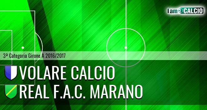 Volare Calcio - Real F.A.C. Marano