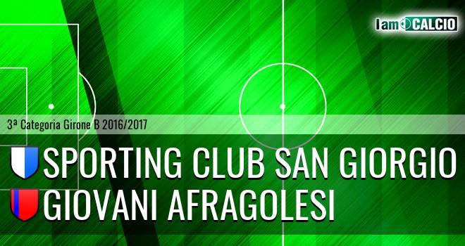 Sporting Club San Giorgio - Giovani Afragolesi