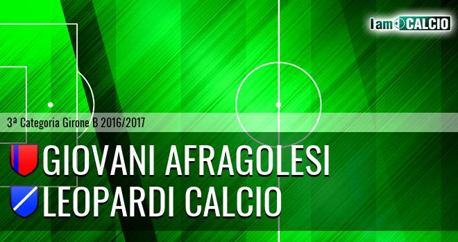 Giovani Afragolesi - Leopardi Calcio