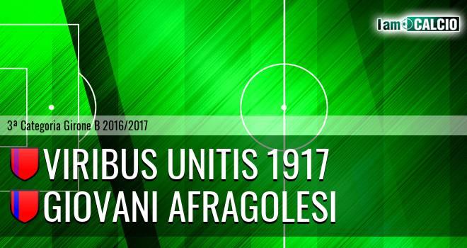 Viribus Unitis 1917 - Giovani Afragolesi