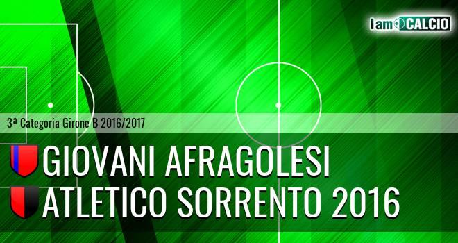 Giovani Afragolesi - Atletico Sorrento 2016