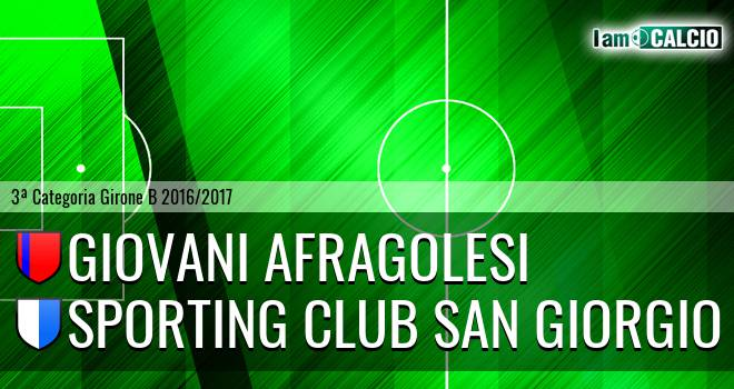 Giovani Afragolesi - Sporting Club San Giorgio