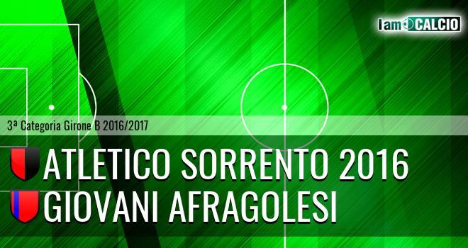 Atletico Sorrento 2016 - Giovani Afragolesi