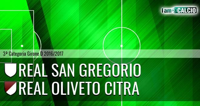 Real San Gregorio - Oliveto Citra