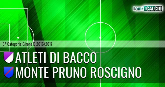 Atleti di Bacco - Monte Pruno Roscigno
