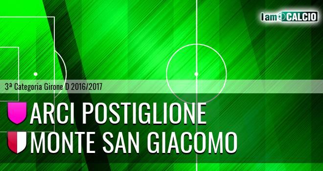Arci Postiglione - Monte San Giacomo