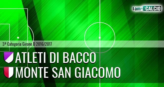 Atleti di Bacco - Monte San Giacomo