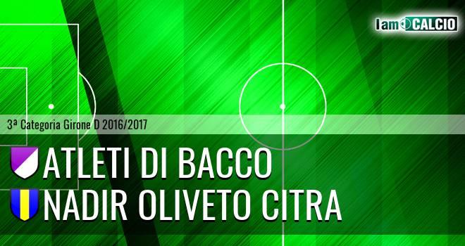 Atleti di Bacco - Nadir Oliveto Citra