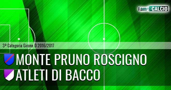 Monte Pruno Roscigno - Atleti di Bacco