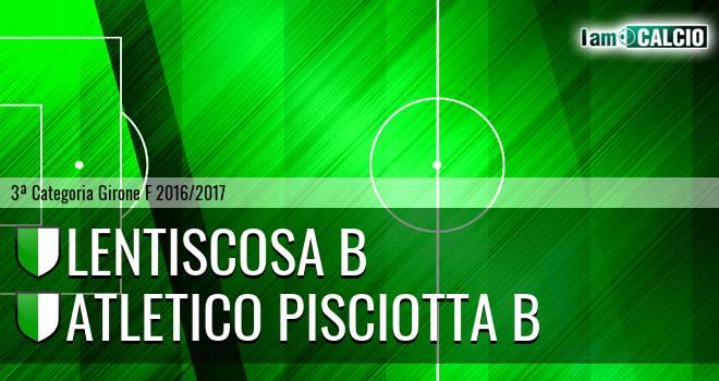 Lentiscosa B - Atletico Pisciotta B