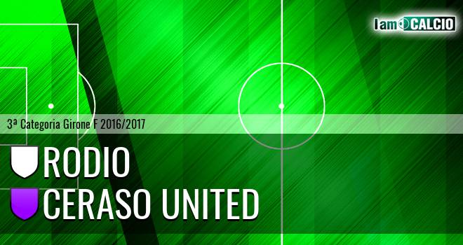 Rodio - Ceraso United