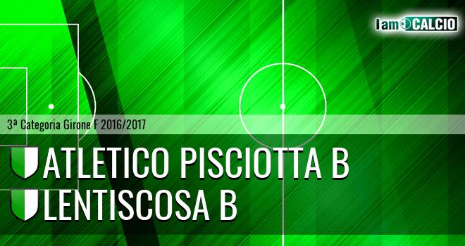 Atletico Pisciotta B - Lentiscosa B