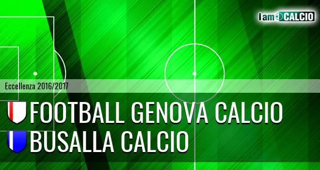 Genova - Busalla Calcio