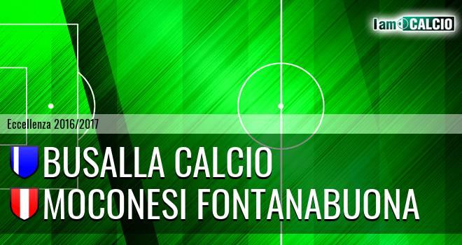 Busalla Calcio - Moconesi Fontanabuona