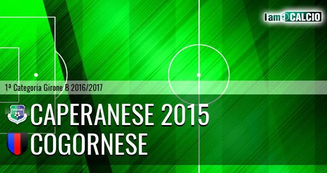 Caperanese 2015 - Cogornese