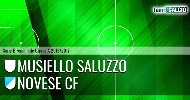 Musiello Saluzzo - Novese CF