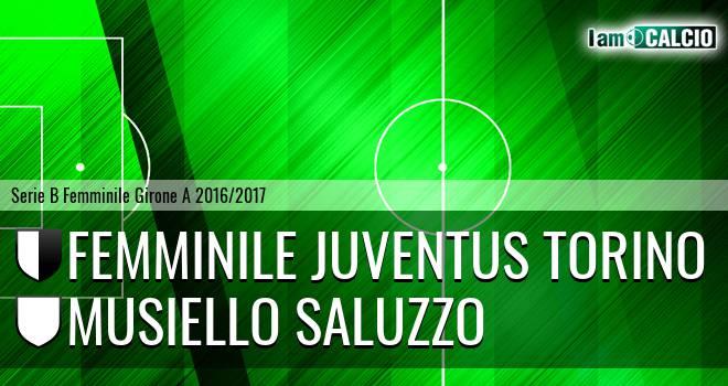 Femminile Juventus Torino - Musiello Saluzzo
