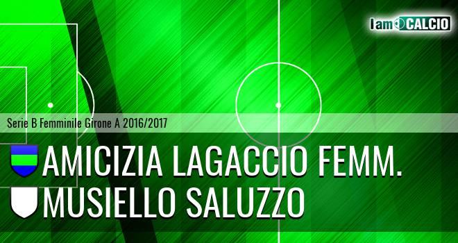 Amicizia Lagaccio Femm. - Musiello Saluzzo