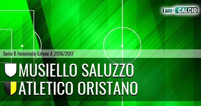 Musiello Saluzzo - Atletico Oristano