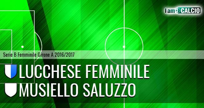 Lucchese Femminile - Musiello Saluzzo