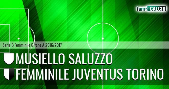 Musiello Saluzzo - Femminile Juventus Torino