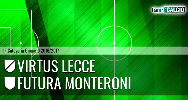 Virtus Lecce - Futura Monteroni