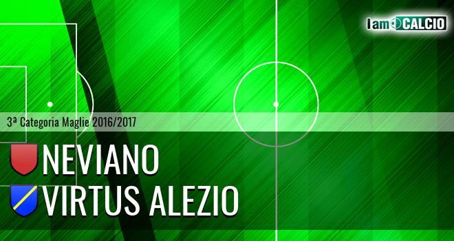 Neviano - Virtus Alezio