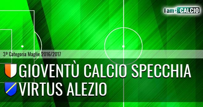 Gioventù Calcio Specchia - Virtus Alezio