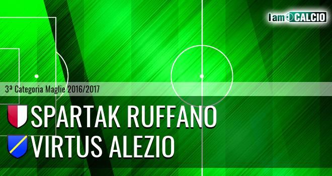 Spartak Ruffano - Virtus Alezio