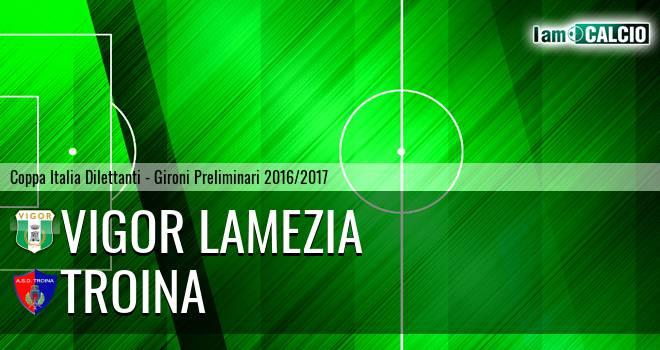 Vigor Lamezia - Troina