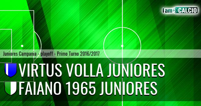 Virtus Volla Juniores - Faiano 1965 Juniores