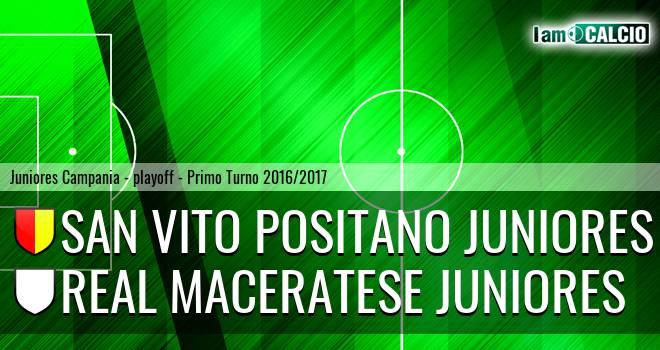 San Vito Positano Juniores - Real Maceratese Juniores