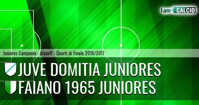 Juve Domitia Juniores - Faiano 1965 Juniores