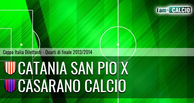 Catania San Pio X - Casarano Calcio