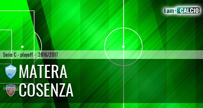 Matera - Cosenza