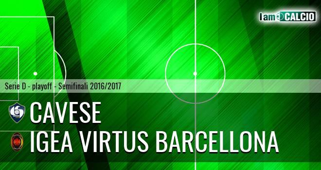 Cavese - Igea Virtus Barcellona