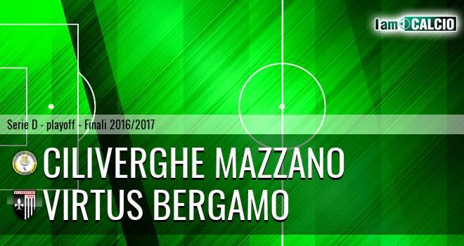 Ciliverghe Mazzano - Virtus Bergamo