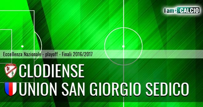 Union Clodiense - Union San Giorgio Sedico