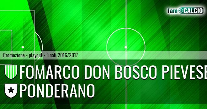 Fomarco Don Bosco Pievese - Ponderano