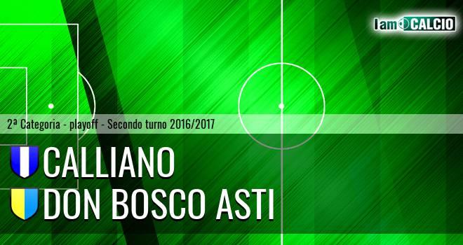 Calliano - Don Bosco Asti