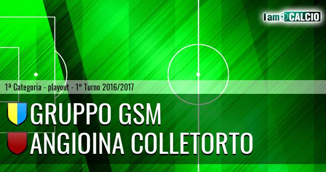 Gruppo GSM - Angioina Colletorto